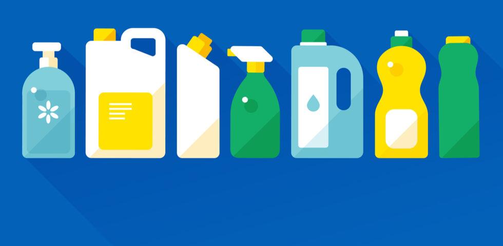 Reinigungsmittel giftig - © Shutterstock