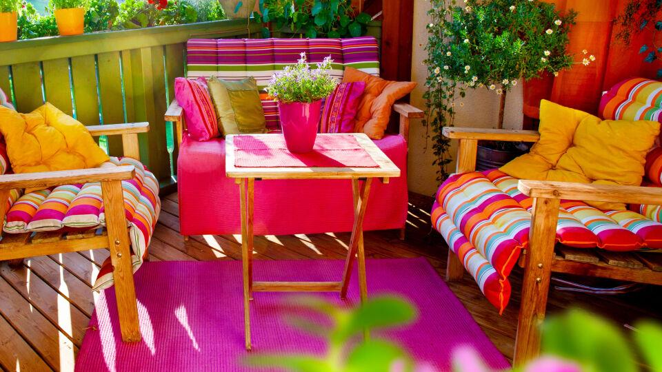 Farbenfrohes zuhause - © Shutterstock