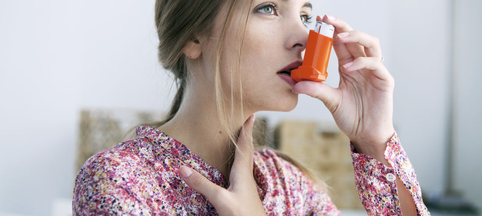 Inhalator Asthma - © Shutterstock