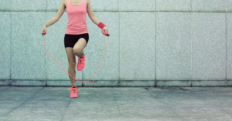 Sport Schnurspringen Aufwärmen - © Shutterstock