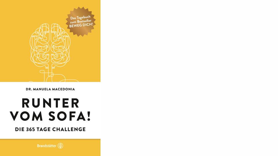 Buch Cover_Runter vom Sofa_Brandstätter Verlag_online - © Brandstätter Verlag