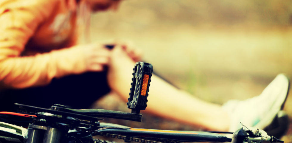 Sport Verletzung Fahrrad - © Shutterstock