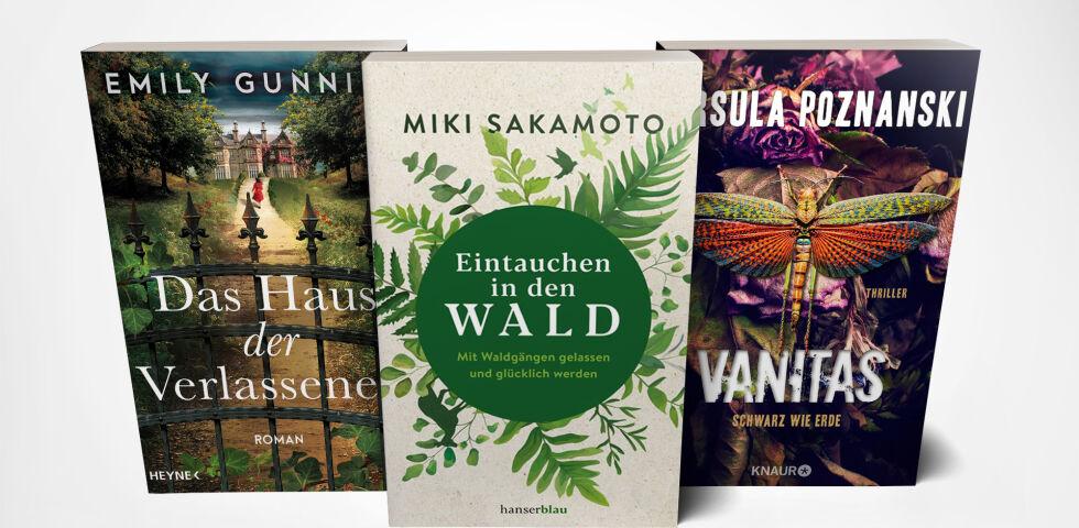 Bücher April Mockup - © Heyne/Hanserblau/Knaur Verlag