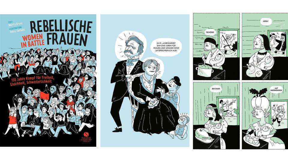 Buch Rebellische Frauen_Breen_Jordahl_© Jenny Jordahl_Elisabeth Sandmann Verlag - © Jenny Jordahl/Elisabeth Sandmann Verlag