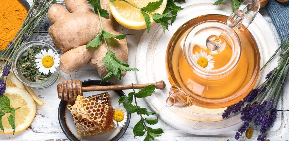 Heilpflanzen Erkältung Abwehr - © Shutterstock