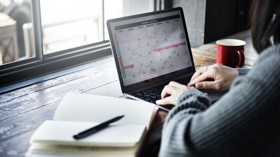 Planung Kalender Lernen - © Shutterstock