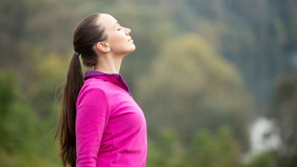 Atmen Entspannung Sport Bewegung - © Shutterstock