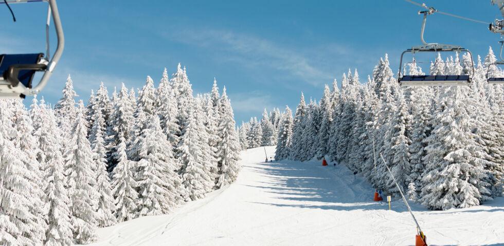 Skipiste Wintersport - © Shutterstock