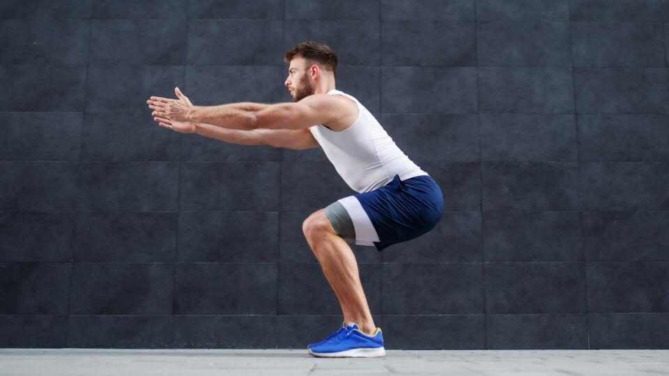 Hocke Kniebeuge Sport Bewegung - © Shutterstock