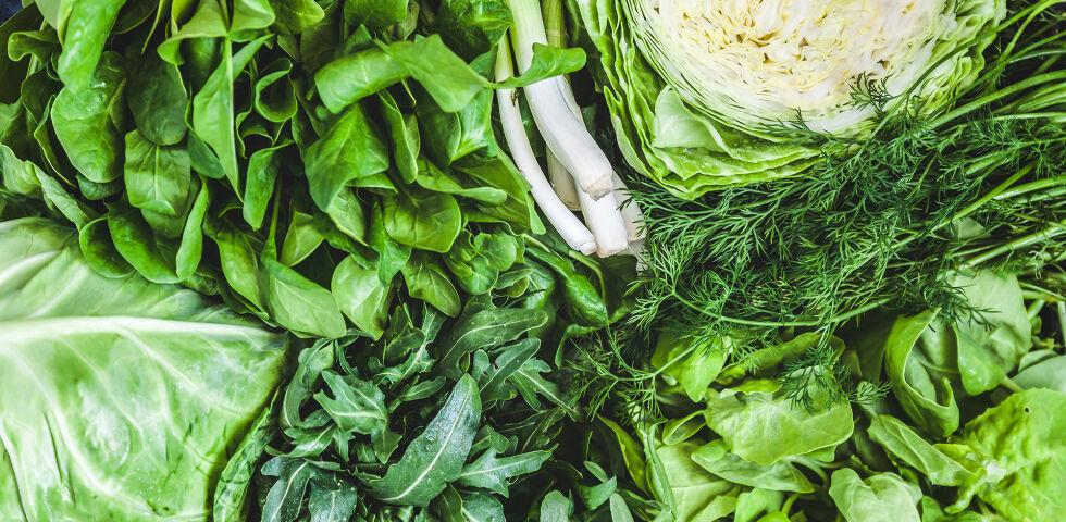 Ernährung Grünes Gemüse - © Shutterstock