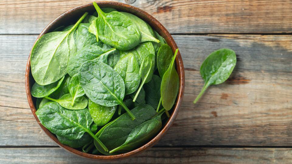Ernährung Spinat - © Shutterstock