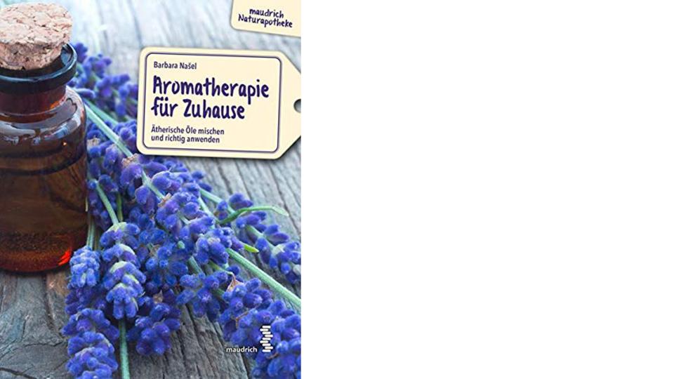 Buch Aromatherapie Cover online - © Facultas / Maudrich Verlag