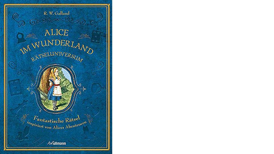 Buch Alice im Wunderland Rätseluniversum - © Ullmann Medien