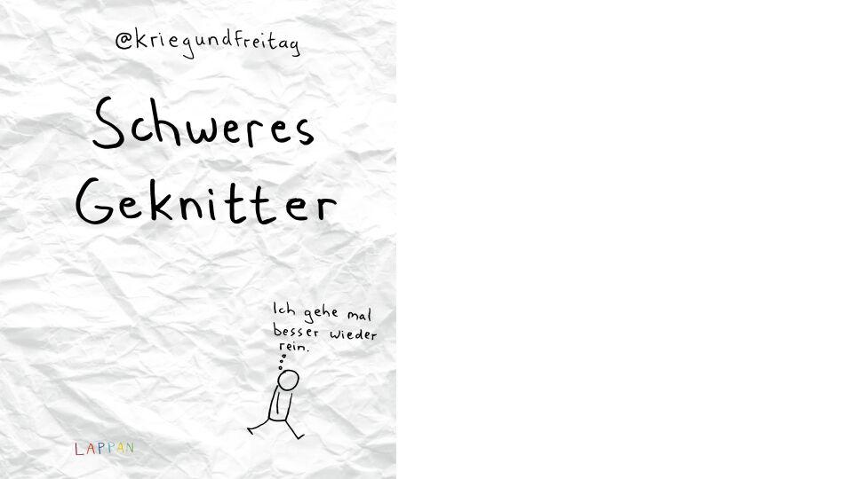 Buch_Cover_Schweres Geknitter_Lappan Verlag - © Lappan Verlag