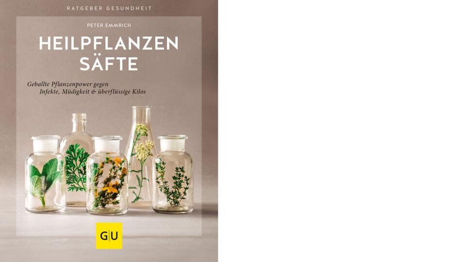 Buch Cover Heilpflanzensäfte_GU Verlag - © Gräfe und Unzer Verlag