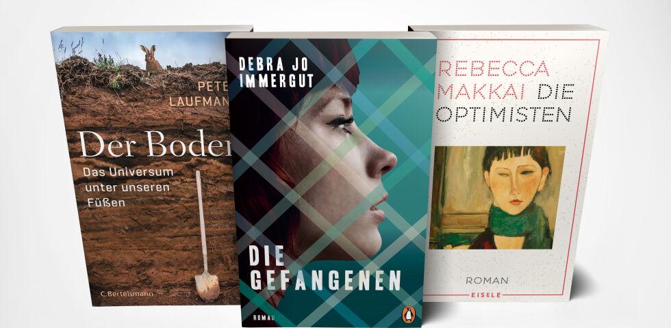 April Buchtipps Cover mockup 2020 - © C. Bertelsmann/Penguin /Eisele