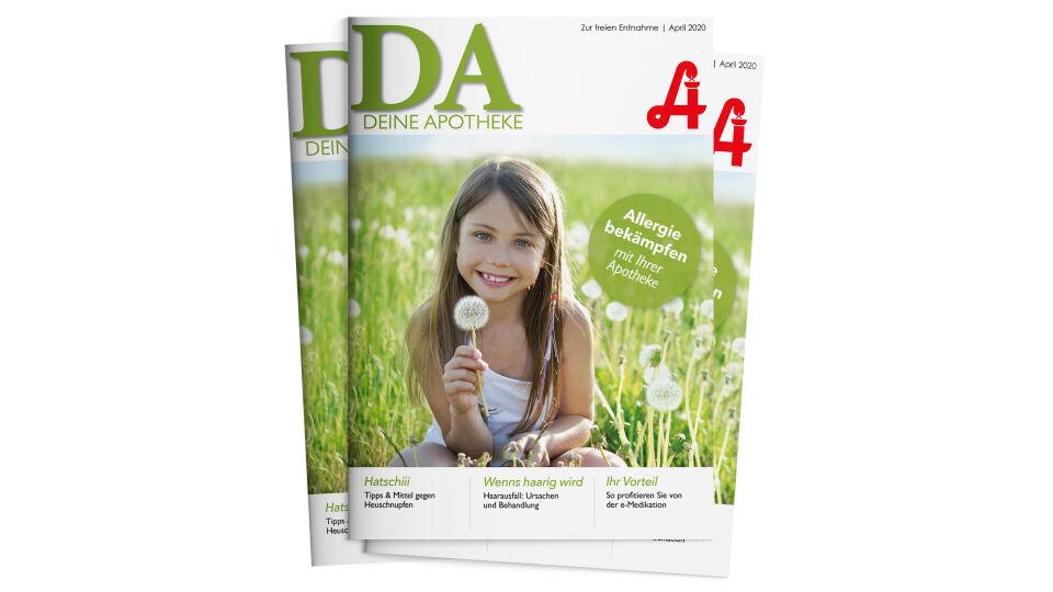 """Covers wide April - Die April-Ausgabe von """"Deine Apotheke"""" ist ab sofort erhältlich. - © apoverlag"""