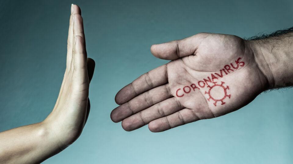 Händeschütteln Coronavirus Hygiene - Weniger Körperkontakt schließt auch Händeschütteln mit ein. - © Shutterstock