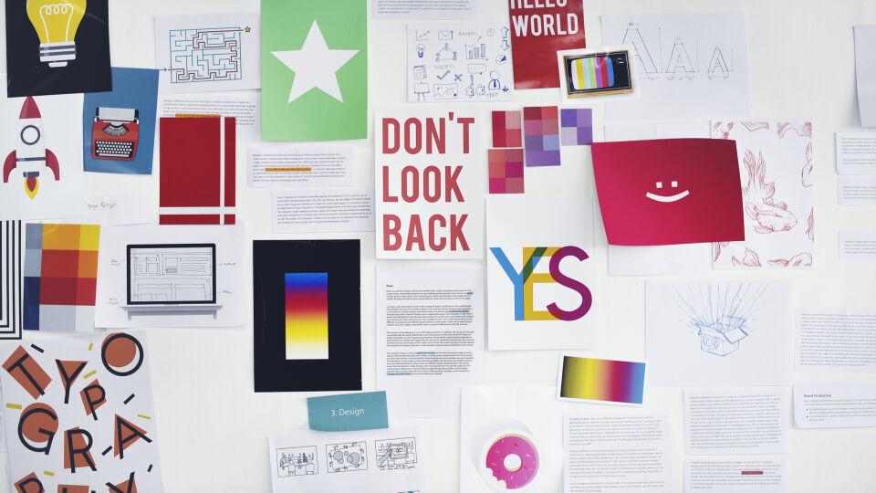 Collage Vision Board Ziele - Mit einer Collage bzw. einem Vision Board haben Sie Ihr Ziel immer im Blick. - © Shutterstock