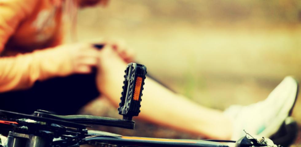 Sport Verletzung Farhrrad 2 - © Shutterstock