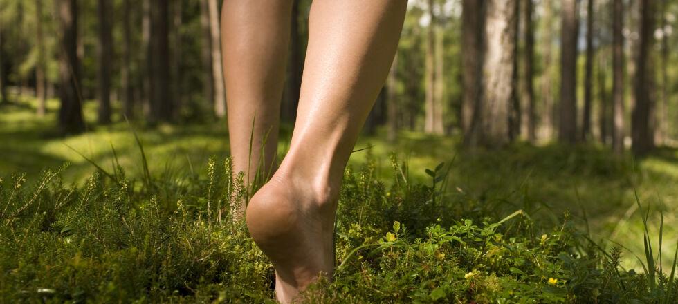 Barfuß Füße - Barfußlaufen tut den Füßen gut. - © Shutterstock