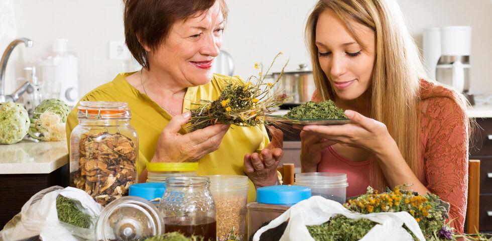 Mutter Tochter Heilpflanze - Die Natur hat viel zu bieten: Gegen (fast) jedes Frauenleiden ist ein Kraut gewachsen. - © Shutterstock