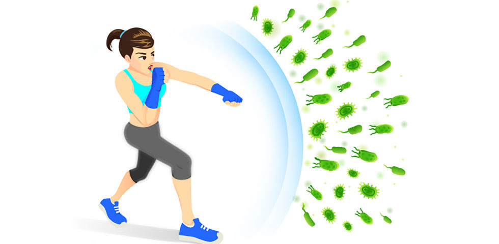 Starkes Immunsystem - Ein gutes Immunsystem schützt uns im besten Fall vor Infekten. - © Shutterstock
