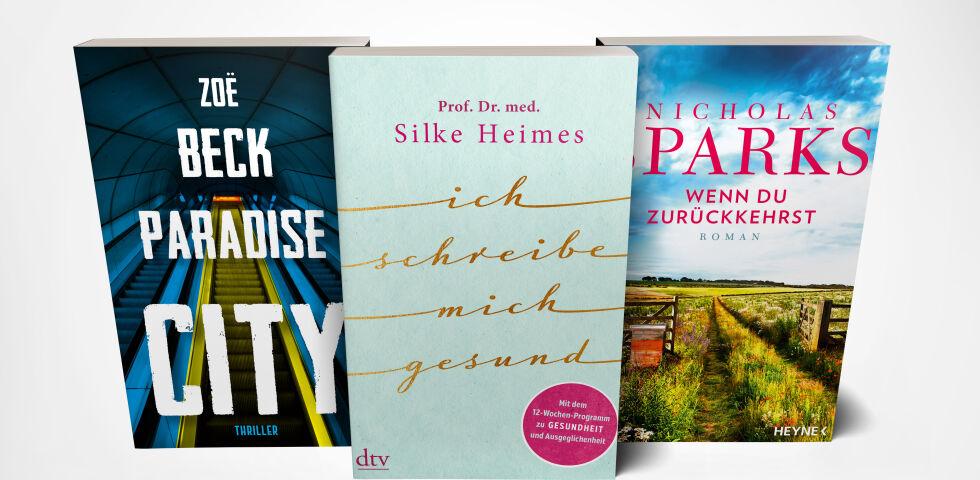 Buchtipps Juli Cover Mockup - © Suhrkamp Verlag / dtv Verlag / Heyne Verlag
