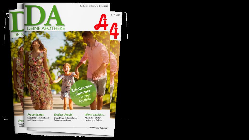 """DA_07_2020_Newsletter_Covers-wide - Die Juli-Ausgabe von """"DA - Deine Apotheke"""""""