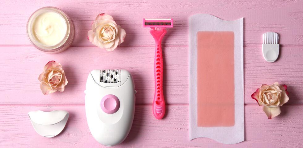 Haarentfernung verschiedene Methoden - © Shutterstock