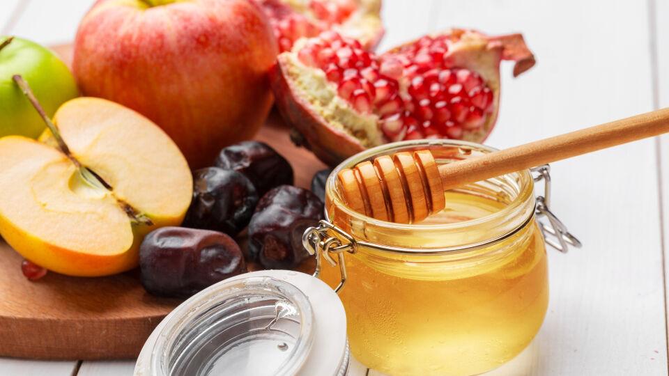 Apfel, Honig, Trockenobst - © Shutterstock