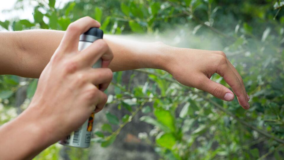 Insektenschutz Spray - © Shutterstock