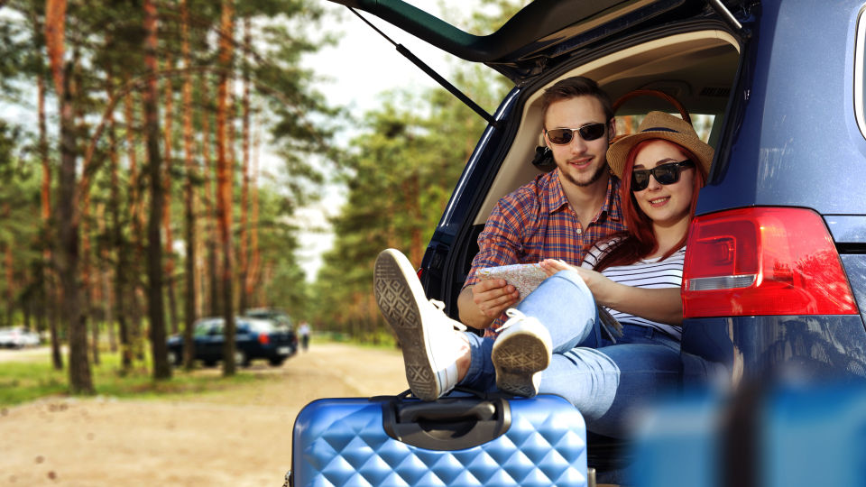 Reise Auto Urlaub Pause Rast