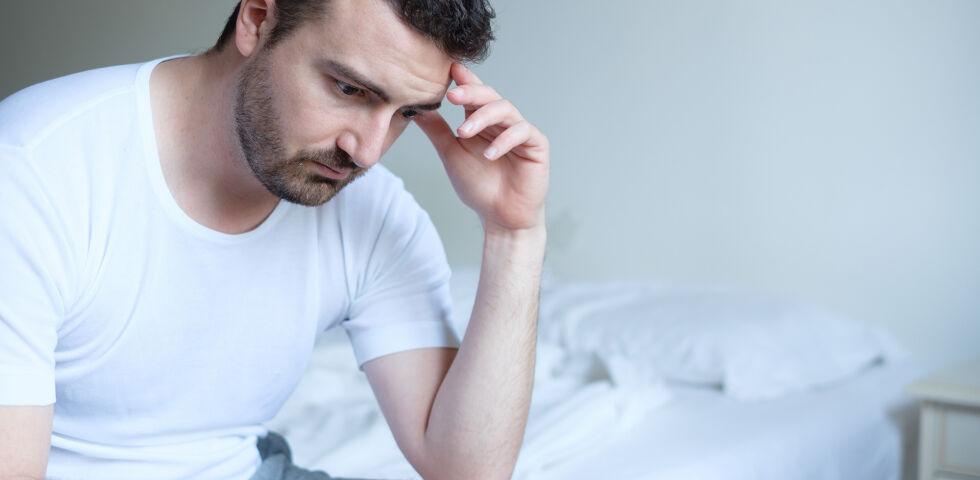 Mann Erektionsstörung - Erektile Dysfunktion ist ein häufiges Problem von Diabetes-Patienten. - © Shutterstock
