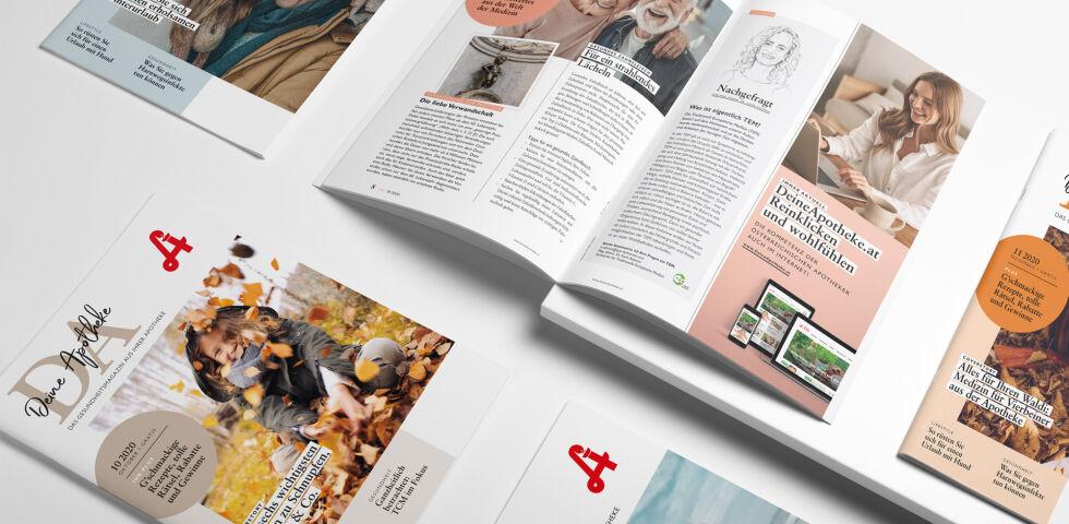 """DA_Header_für_Archivseite - Das Magazin """"Deine Apotheke"""" erscheint monatlich."""