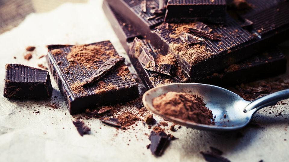 Dunkle Schokolade Ernährung - © Shutterstock