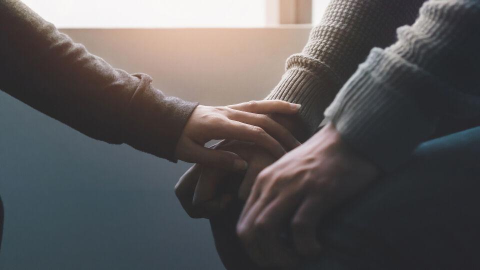 Mitgefühl_Hilfe_Hoffnung - Depressionen können behandelt werden.