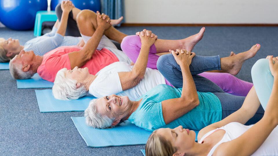 Senior Bewegung Sport - © Shutterstock