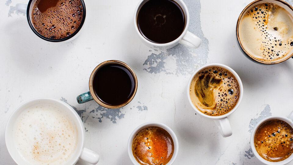 Kaffee Koffein - Fahren Sie den Kaffeekonsum langsam herunter. - © Shutterstock