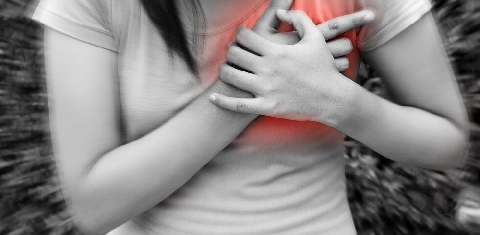 Herzinfarkt - Frauen mit Diabetes haben ein sechsfach erhöhtes Risiko, einen Herzinfarkt zu erleiden, als Nicht-Diabetikerinnen. - © Shutterstock