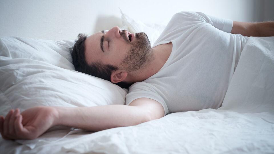 Schlaf Mann - © Shutterstock