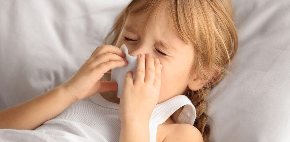 Erkältung Kind Schnupfen - © Shutterstock