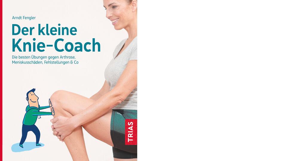Buchcover_Der kleine Knie-Coach_c_Trias Verlag - Ratgeber - © Trias Verlag