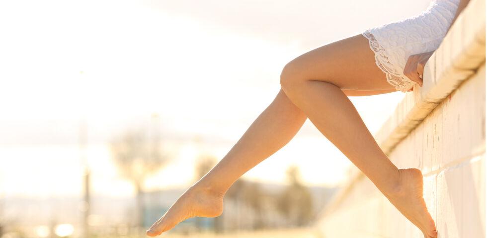 Beine Frau Sommer Füße - © Shutterstock