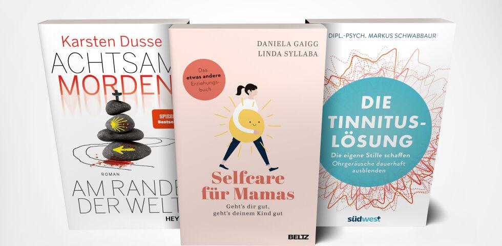 Buch Cover Fächer Juli 21 - © Heyne/Beltz/Suedwest