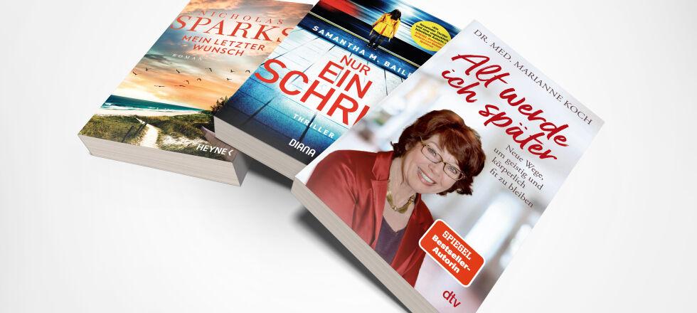Buch Cover Fächer September 21_c_Heyne_Diana_dvt - Das lesen wir im September. - © Heyne/Diana/dtv