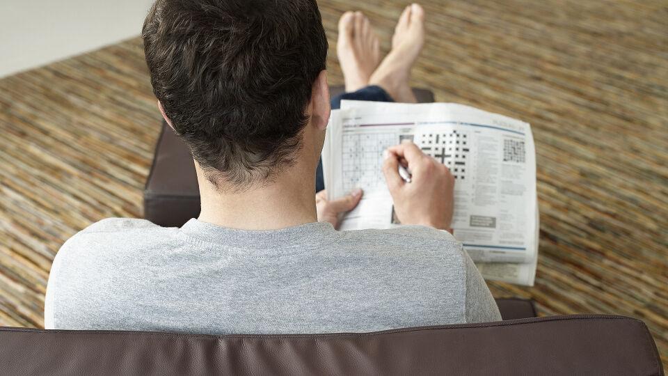 Kreuzworträtsel Gehirnjogging - © Shutterstock