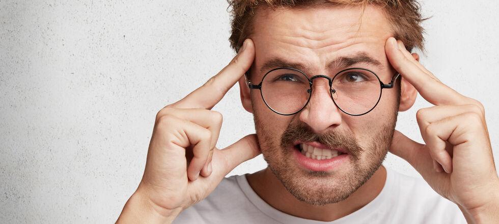 Vergesslichkeit Junger Mann - © Shutterstock