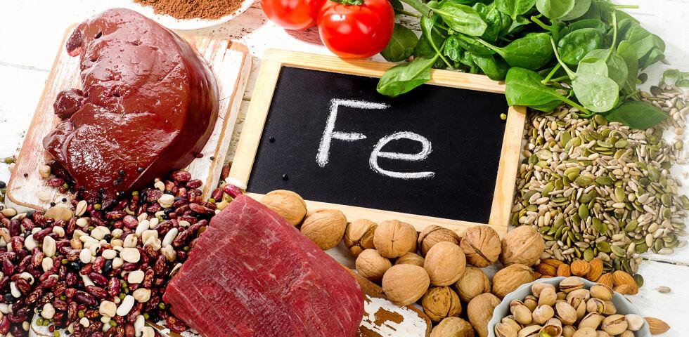 Eisen Vitamine Ernährung - © Shutterstock