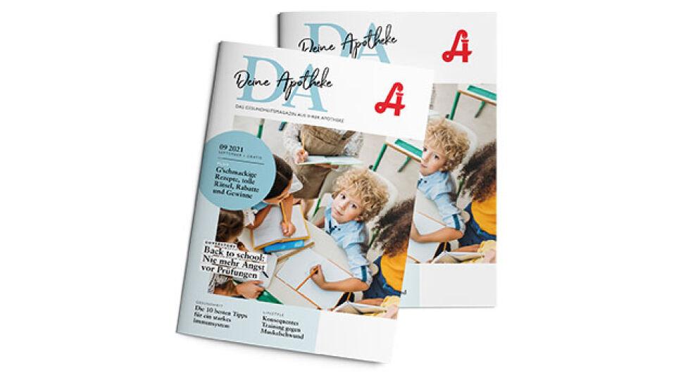 """DA_Cover_Mockup_September_online - Die September-Ausgabe von """"DA - Deine Apotheke"""". - © apoverlag"""